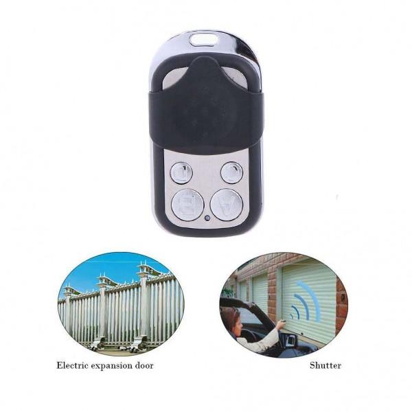 433.92M Metal Wireless 4 Key Garage Door Universal Copy Remote Control