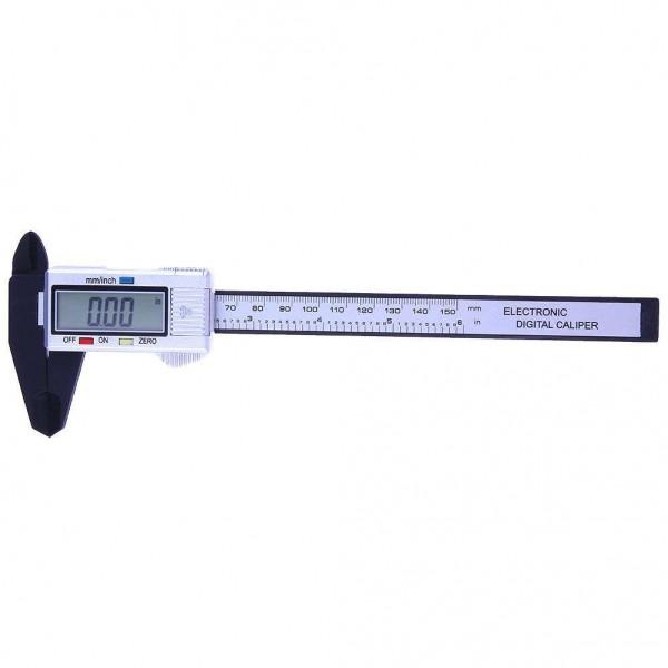150mm Digital Vernier Caliper Scale Ruler Measuring Micrometer (Silver)