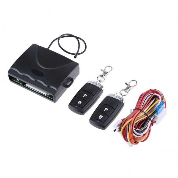 DC 12V Car Universal Key-Free Access Anti Theft Remote Alarm System