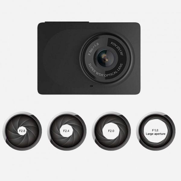 YI 2.7'' HD 1080P Dash Cam Mini Car DVR Recorder Night Vision Photography