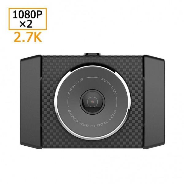 Xiaomi Yi 2.7K Car DVR Camera WiFi 2.7in WDR Driving Recorder Dash Cam