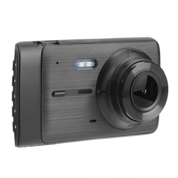 4in Dual Lens 1080P Car DVR Camera Video Recorder Motion Detection Dash Cam