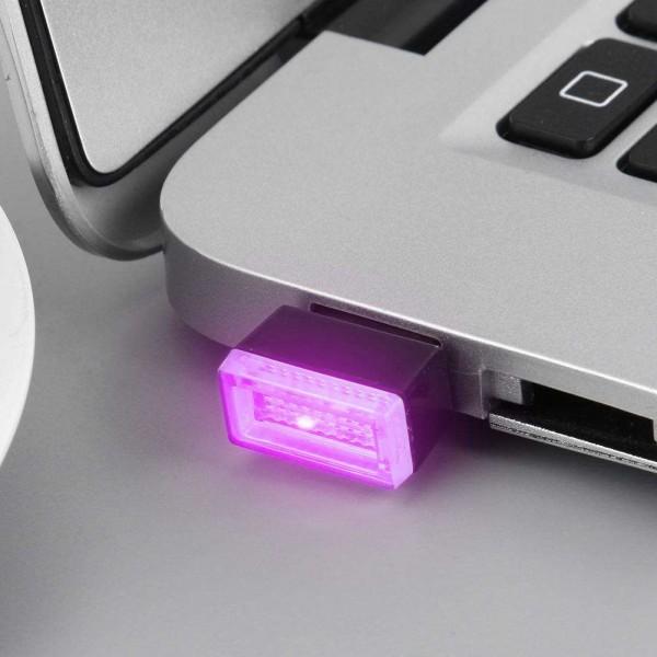 USB LED Mini Wireless Car Interior Ambient Lighting Atmosphere Decorative