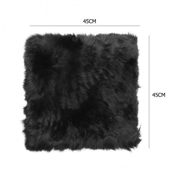 Winter Warm Car Auto Seat Cushion Plush Wool Seat Pad Home Office Chair Mat