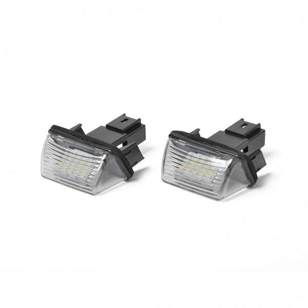 2pcs LED License Number Plate Lights+ Repair Kit