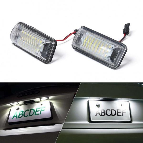 2pcs LED License Number Plate Lights+Repair Kit