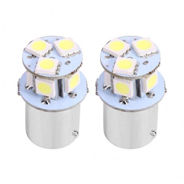1 Pair 12V 1156 5050 8SMD 96LM Car LED Lights Brake Tail Rear Reverse Lamps