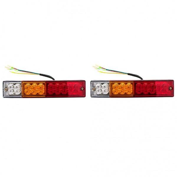 20 LED Tail Light Car Truck Trailer Stop Rear Reverse Turn Indicator Lamp